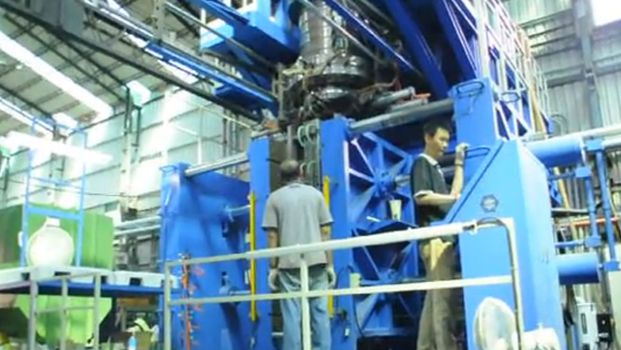 Large Size Table blow molding machine